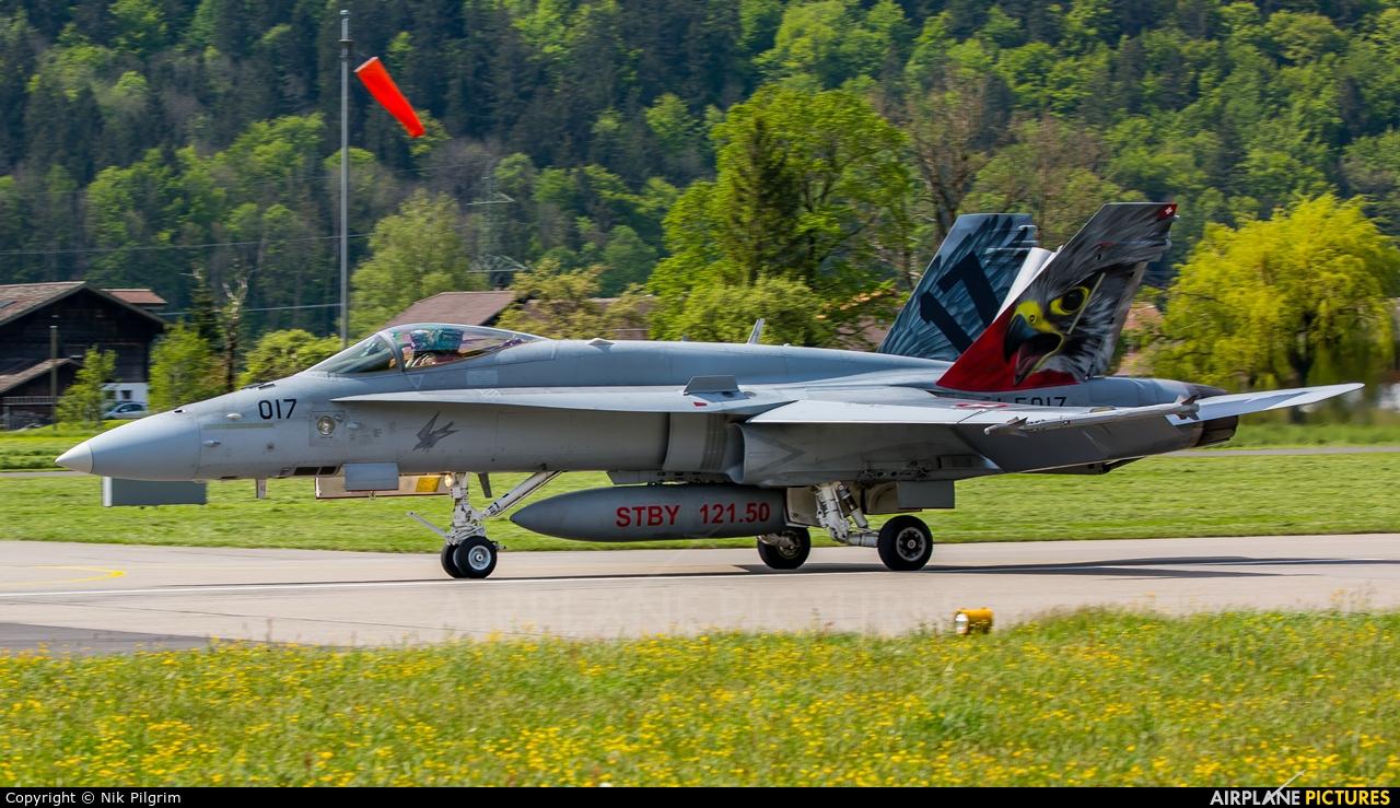 Switzerland - Air Force J-5017 aircraft at Meiringen