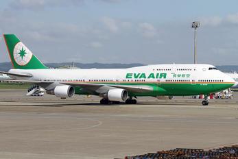 B-16408 - Eva Air Boeing 747-400