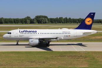 D-AILD - Lufthansa Airbus A319