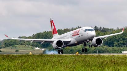 HB-JCI - Swiss Bombardier CS300