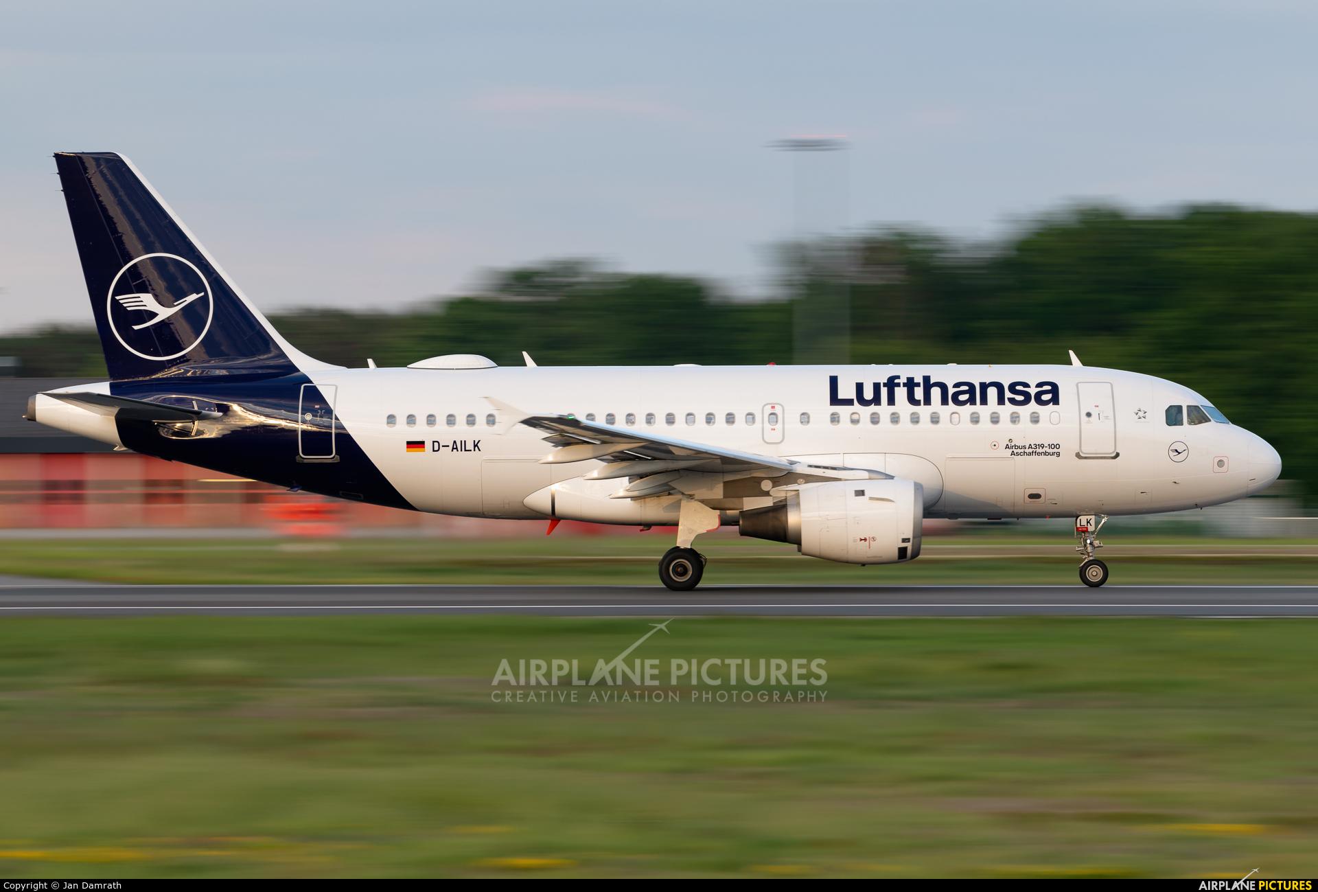 Lufthansa D-AILK aircraft at Frankfurt