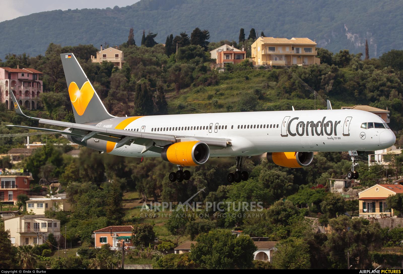 Condor D-ABOR aircraft at Corfu - Ioannis Kapodistrias