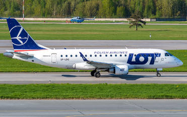 SP-LDG - LOT - Polish Airlines Embraer ERJ-170 (170-100)