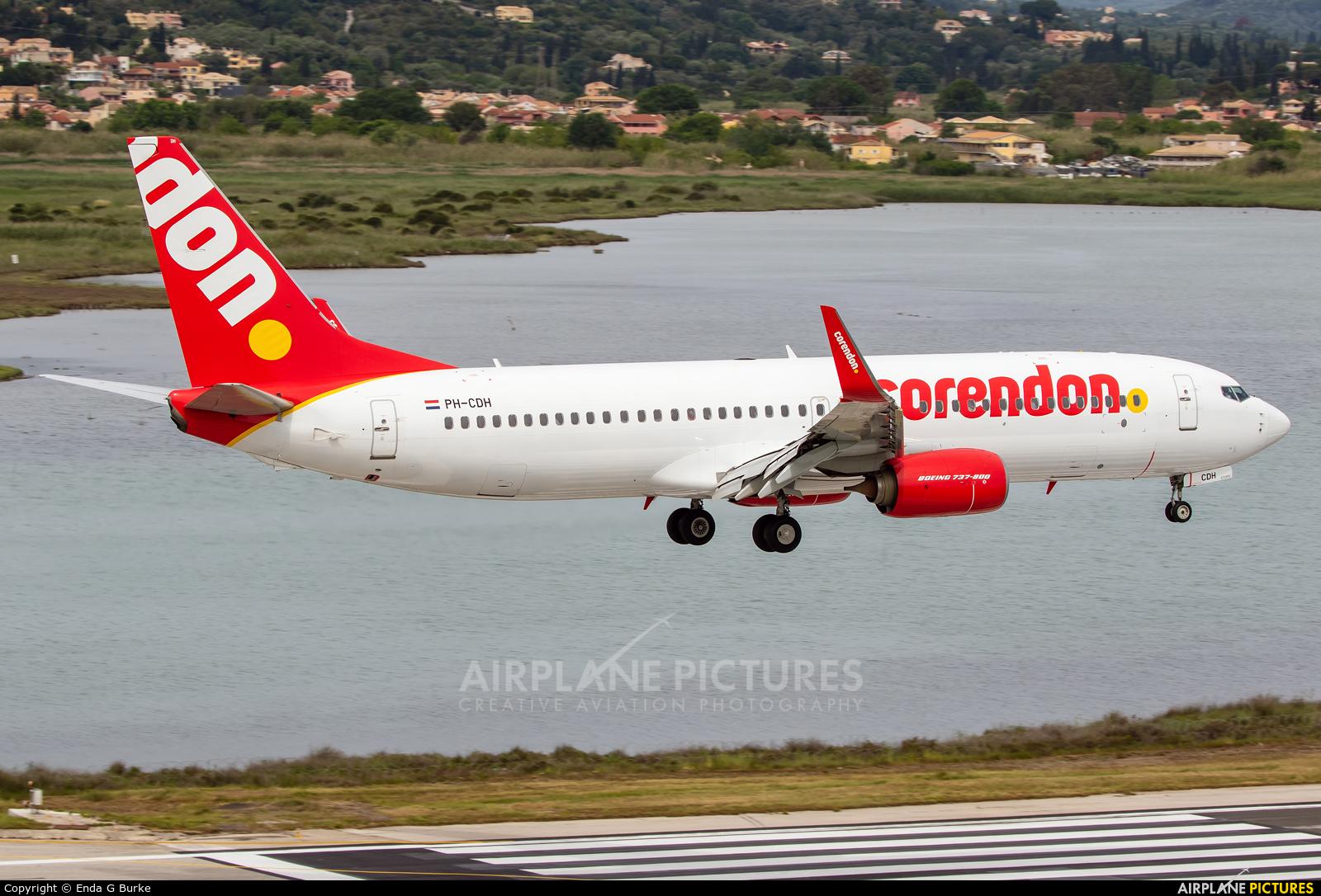 Corendon Dutch Airlines PH-CDH aircraft at Corfu - Ioannis Kapodistrias