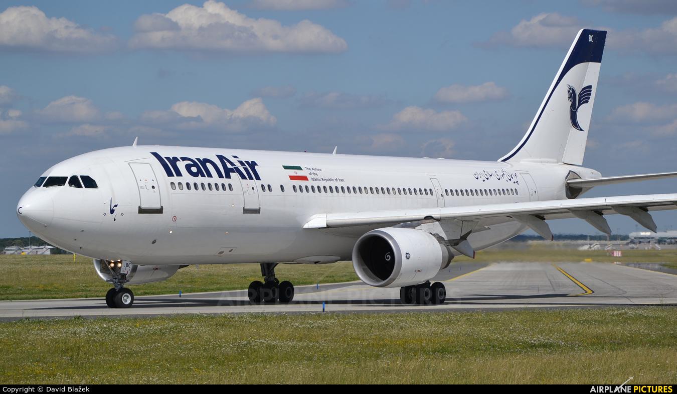 Iran Air EP-IBC aircraft at Prague - Václav Havel