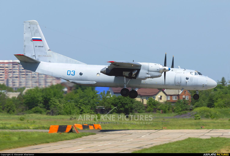 Russia - Air Force 03 aircraft at Krasnodar Tsentralny
