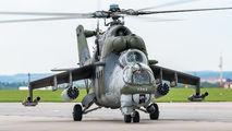7353 - Czech - Air Force Mil Mi-24V aircraft