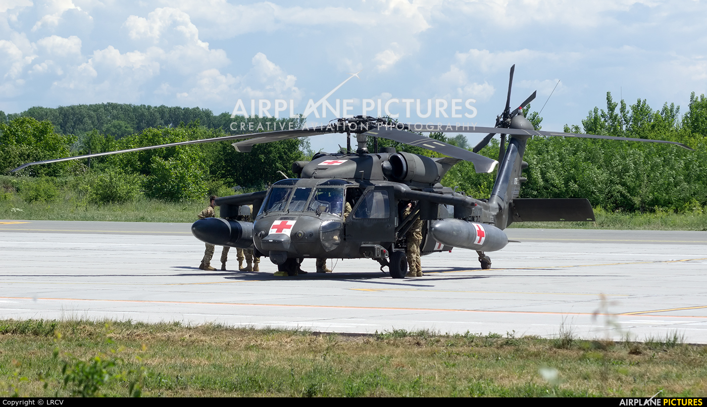 USA - Army 08-20170 aircraft at Craiova