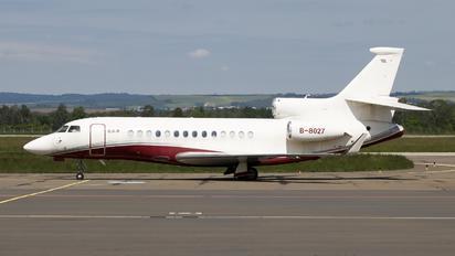 B-8027 - Private Dassault Falcon 7X