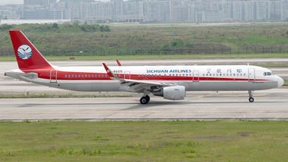 ZUCK - Sichuan Airlines  Airbus A321