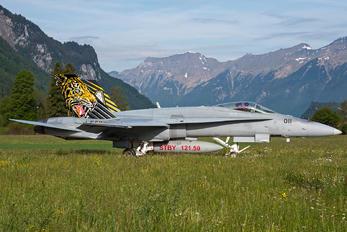 J-5011 - Switzerland - Air Force McDonnell Douglas F-18C Hornet