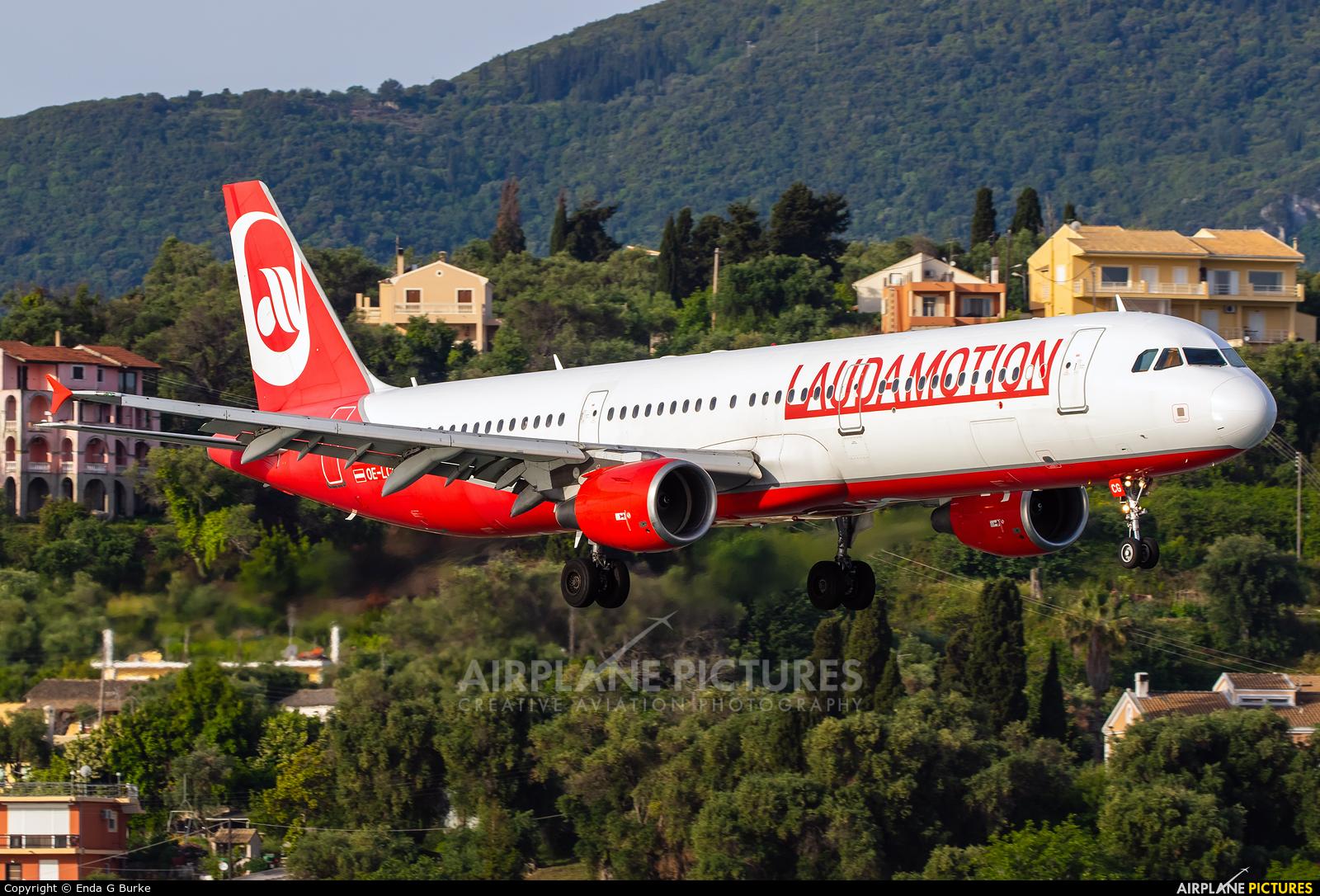 LaudaMotion OE-LCG aircraft at Corfu - Ioannis Kapodistrias