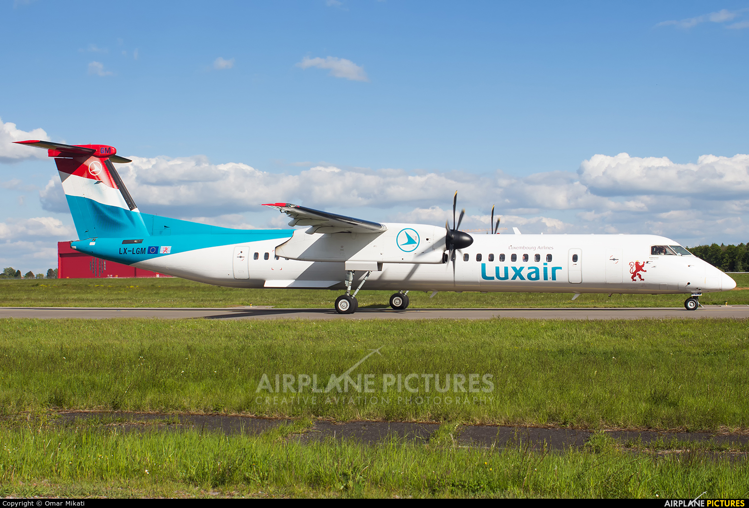 Luxair LX-LGM aircraft at Luxembourg - Findel