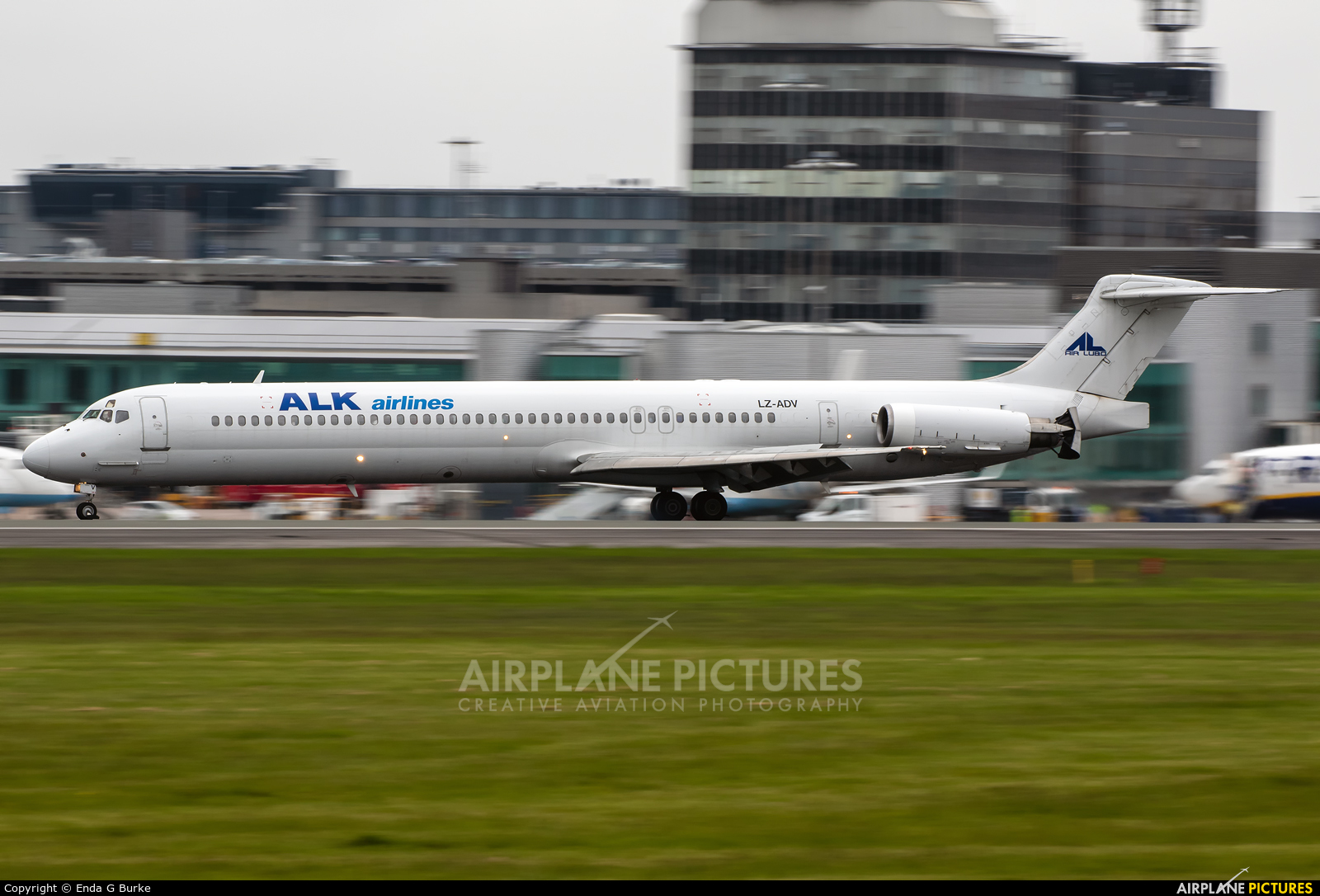 ALK Airlines LZ-ADV aircraft at Manchester