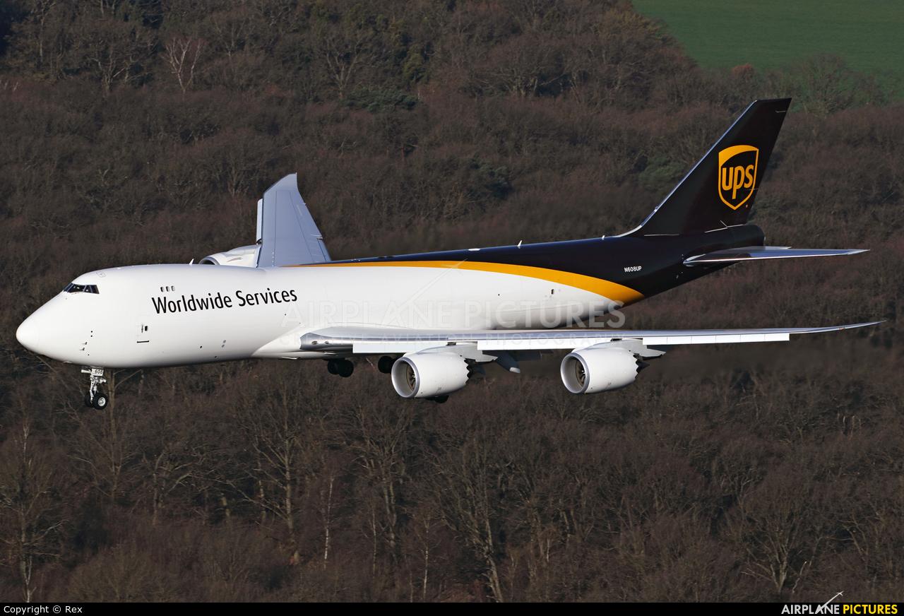 UPS - United Parcel Service N608UP aircraft at Cologne Bonn - Konrad Adenauer