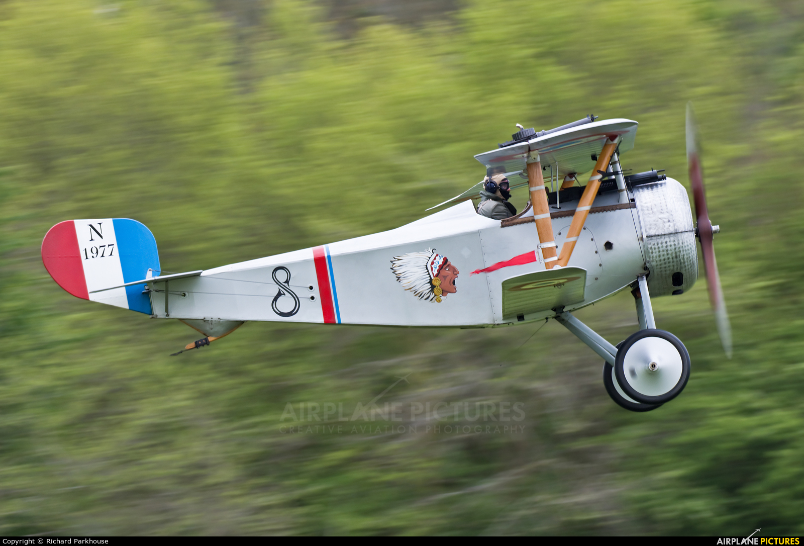 Private G-BWMJ aircraft at Old Warden