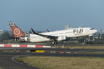 DQ-FJN - Fiji Airways Boeing 737-800