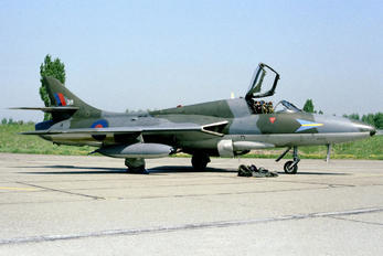 WV318 - Royal Air Force Hawker Hunter T.7