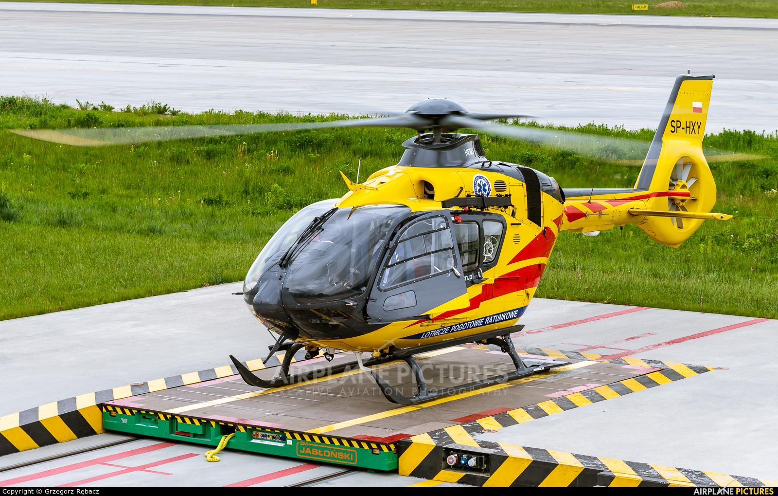 Polish Medical Air Rescue - Lotnicze Pogotowie Ratunkowe SP-HXY aircraft at Kraków - John Paul II Intl