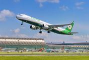 B-16223 - Eva Air Airbus A321 aircraft