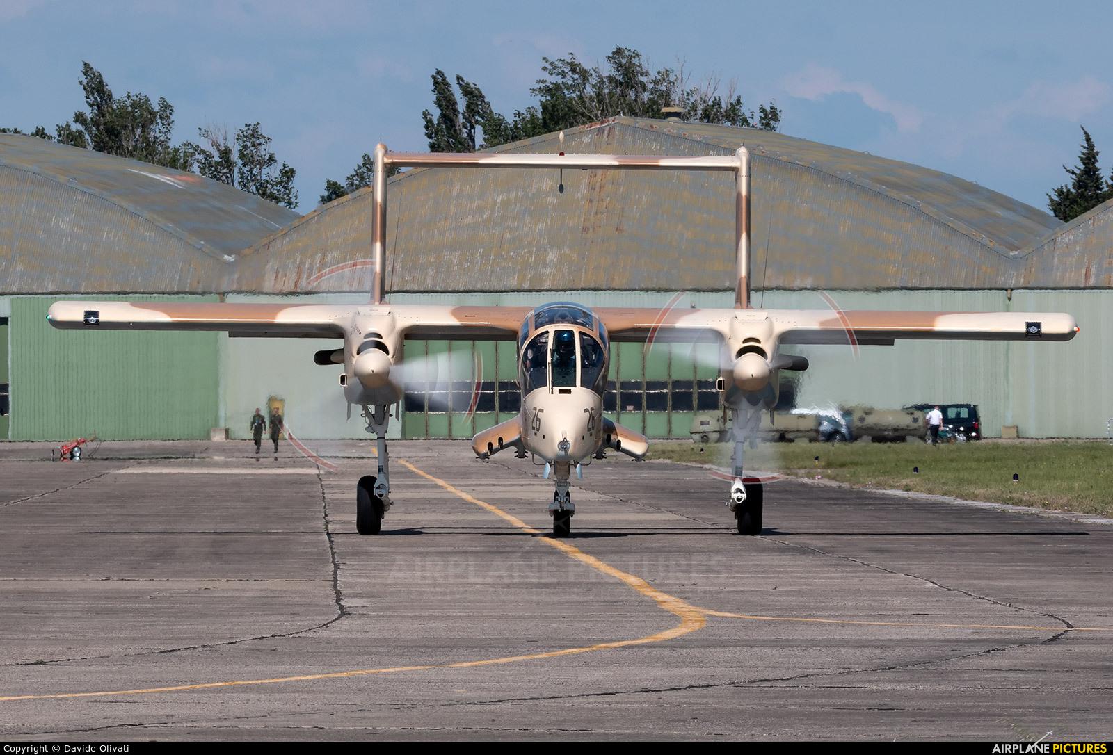 Private F-AZKM aircraft at Orange - Caritat