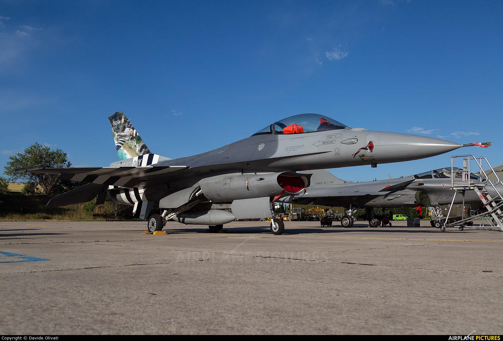 Belgium - Air Force FA-57 aircraft at Orange - Caritat