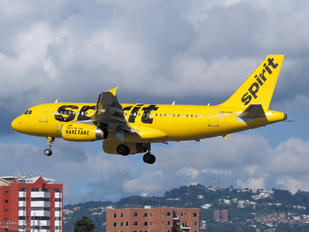 N506NK - Spirit Airlines Airbus A319