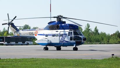 108 - Romania - Air Force Eurocopter AS332 Super Puma