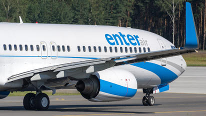 SP-ENQ - Enter Air Boeing 737-800
