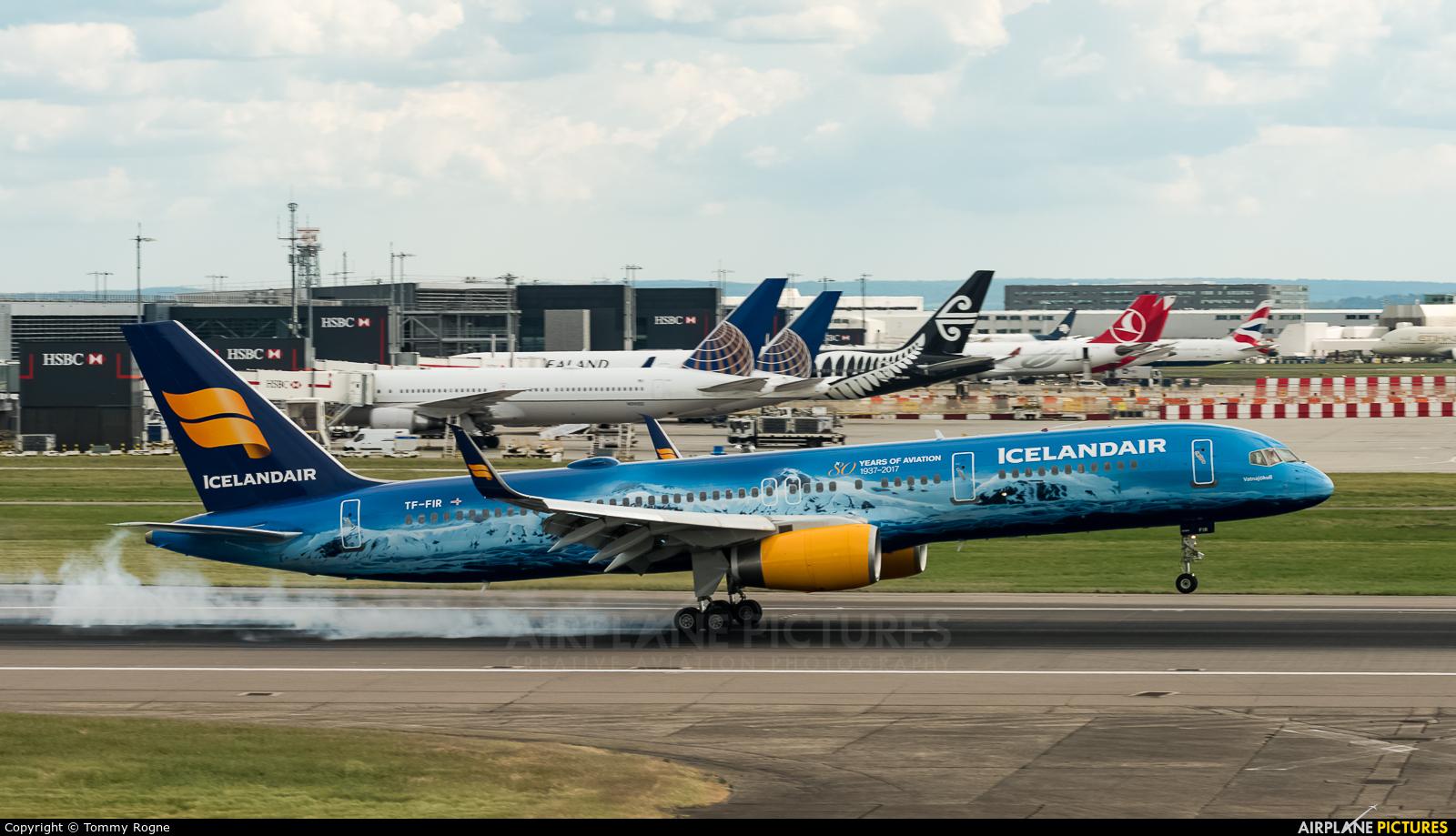 Icelandair TF-FIR aircraft at London - Heathrow