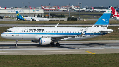 9K-AKF - Kuwait Airways Airbus A320 CJ