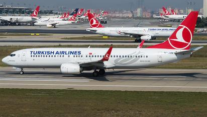 TC-JVN - Turkish Cargo Boeing 737-800