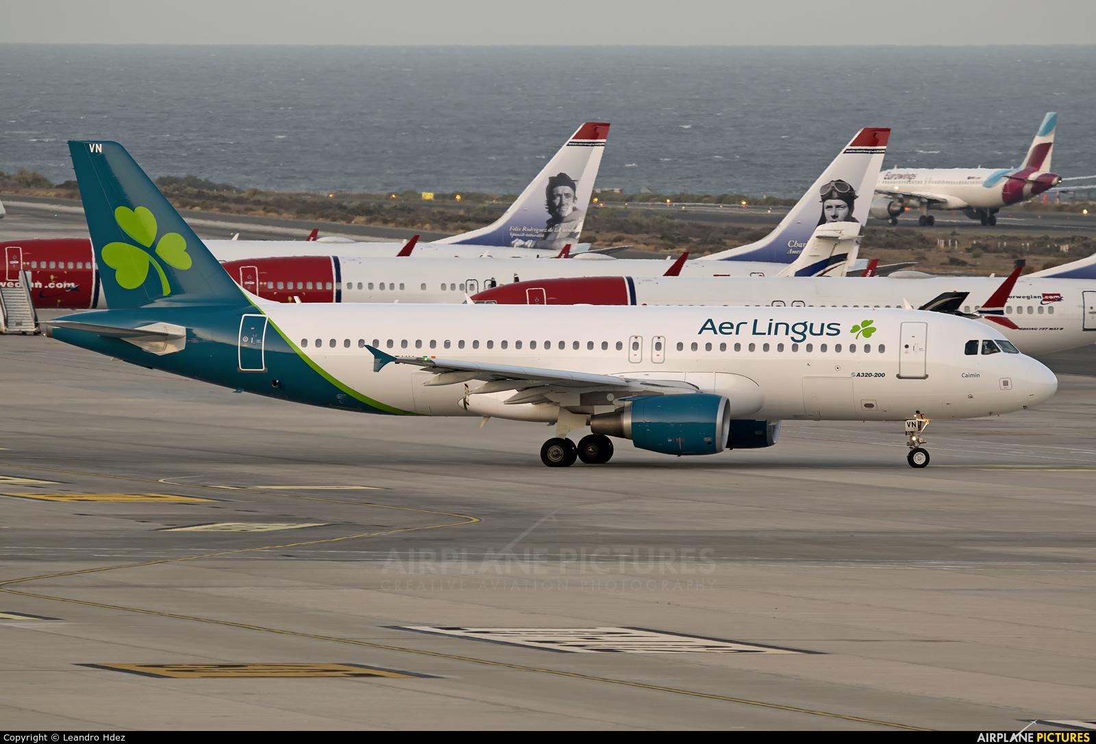 Aer Lingus EI-DVN aircraft at Aeropuerto de Gran Canaria