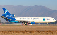 Rare visit of Orbis MD-10 to Santiago de Chile title=