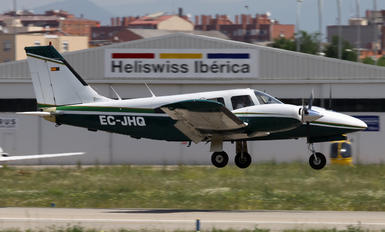 EC-JHQ - Private Piper PA-34 Seneca