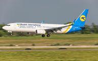UR-UIB - Ukraine International Airlines Boeing 737-800 aircraft