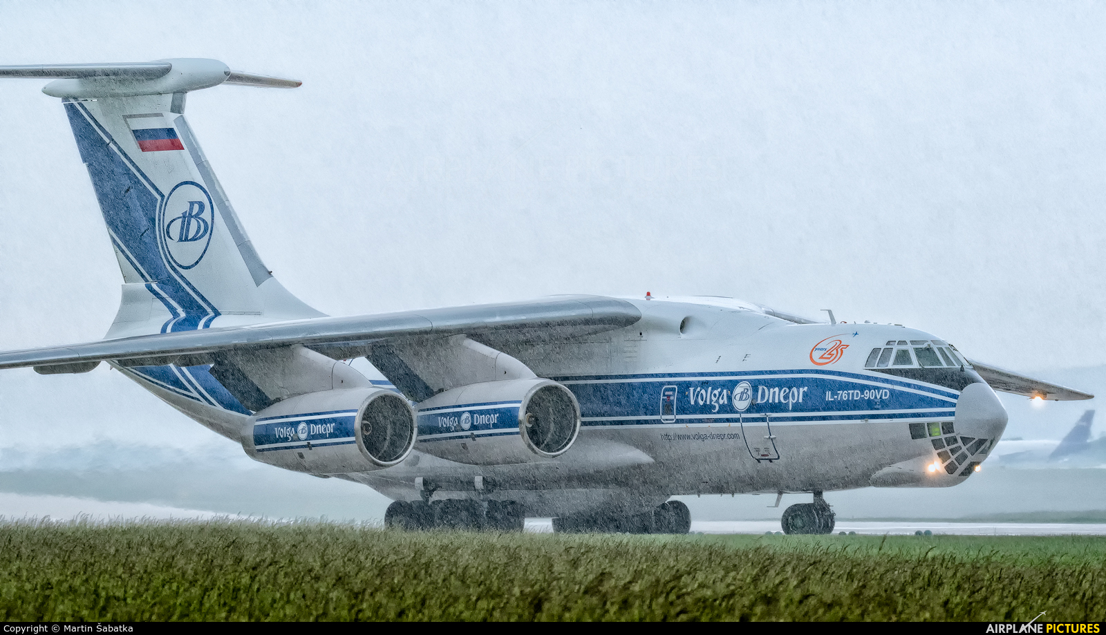 Volga Dnepr Airlines RA-76952 aircraft at Brno - Tuřany