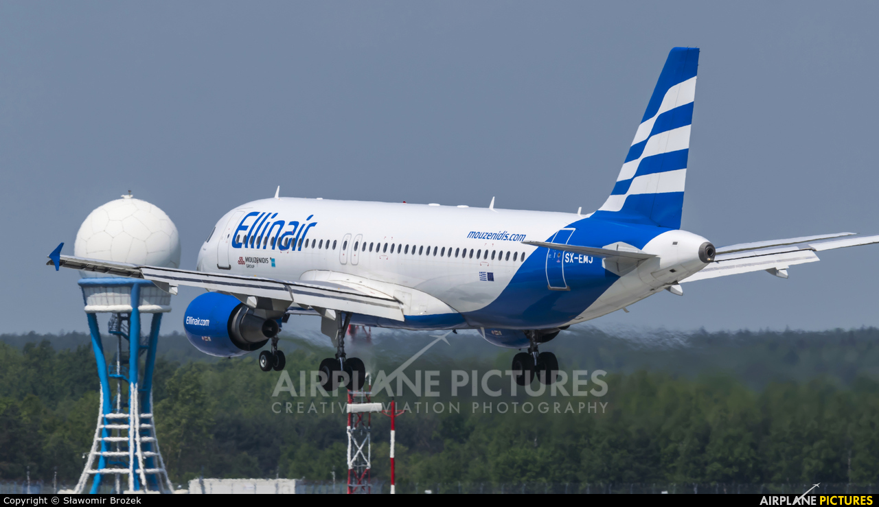 Ellinair SX-EMJ aircraft at Katowice - Pyrzowice