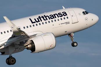 D-AINP - Lufthansa Airbus A320 NEO