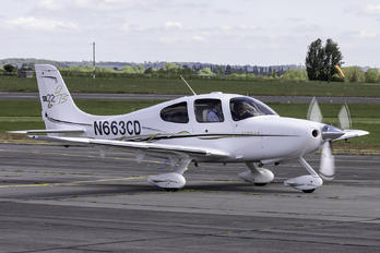 N663CD - Private Cirrus SR-22 -GTS