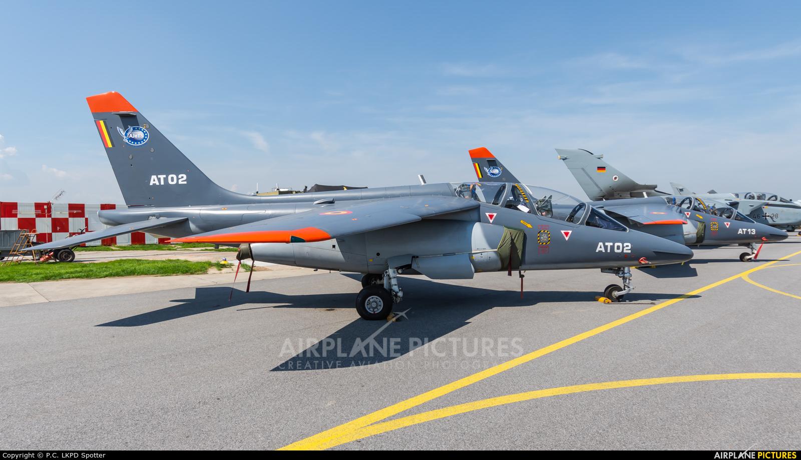 Belgium - Air Force AT02 aircraft at Čáslav