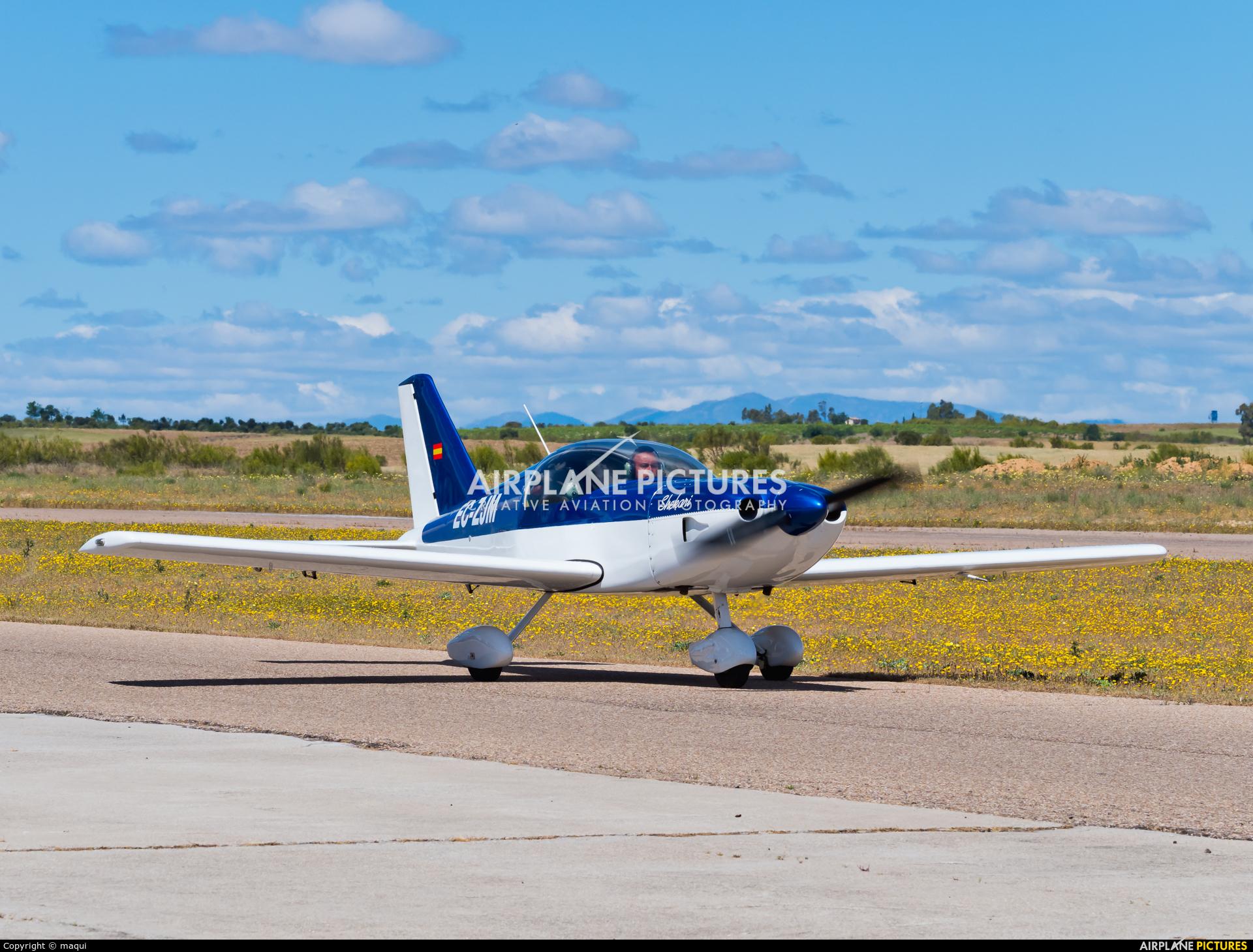 Private EC-ZJM aircraft at Casarrubios del Monte