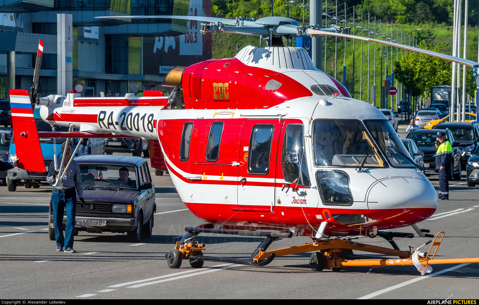 Russia - МЧС России EMERCOM RA-20018 aircraft at Moscow - Heliport Krokus