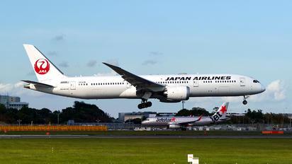 JA865J - JAL - Japan Airlines Boeing 787-9 Dreamliner
