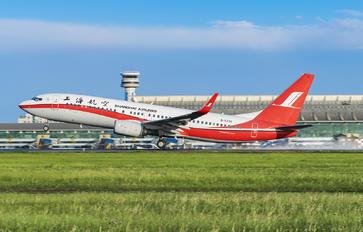 B-5730 - Shanghai Airlines Boeing 737-800