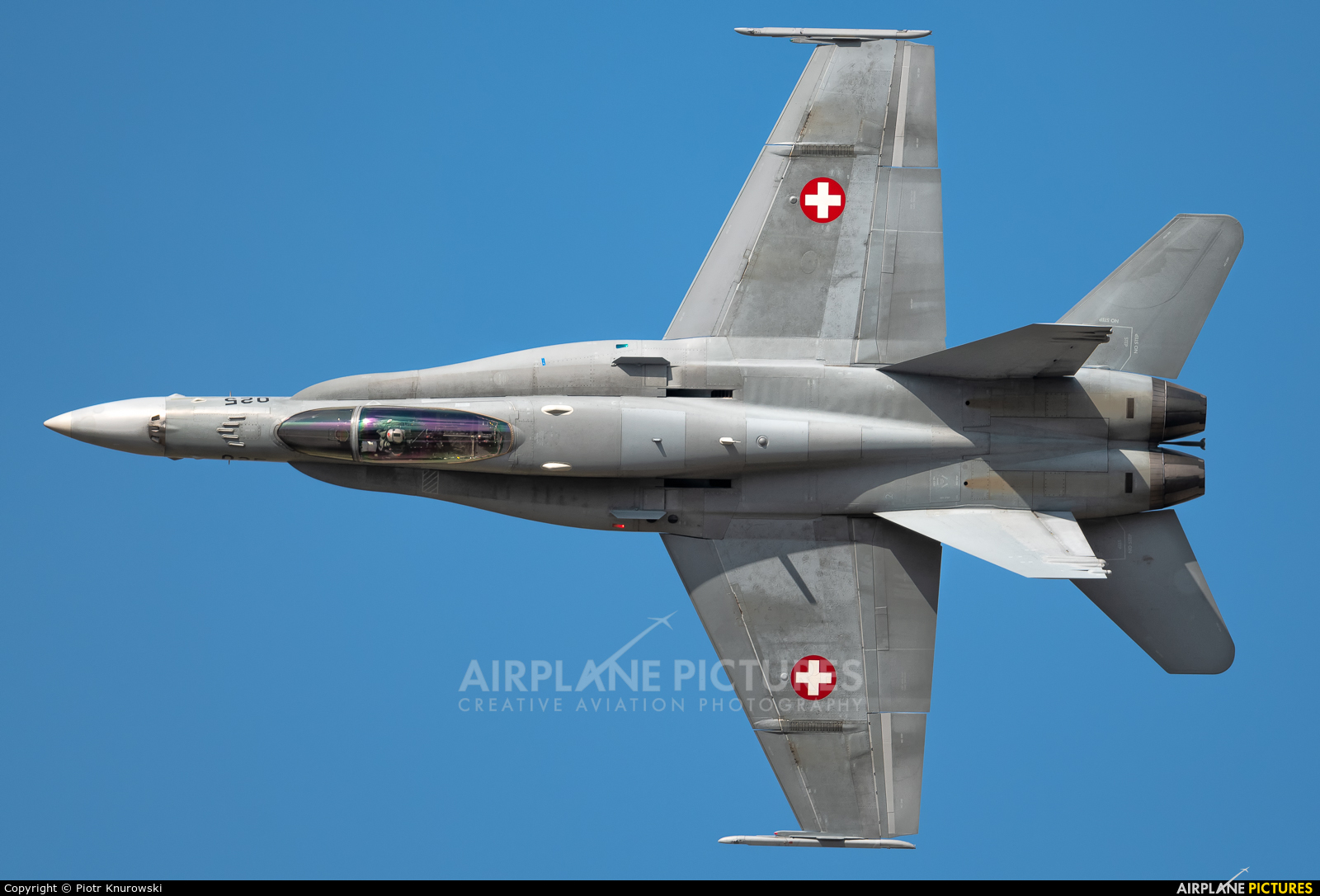 Switzerland - Air Force J-5025 aircraft at Orange - Caritat