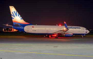 TC-SNZ - SunExpress Boeing 737-800