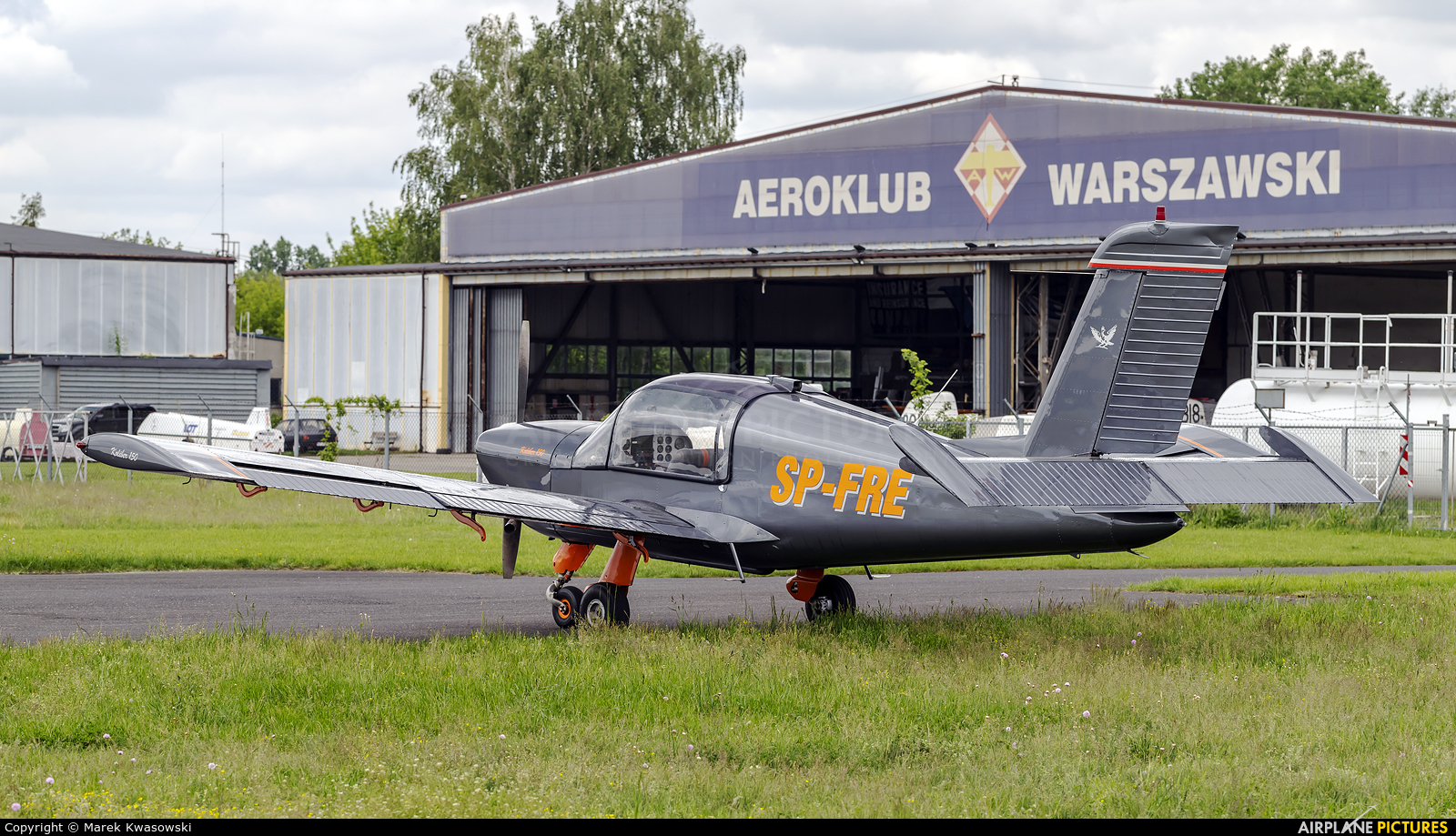 Private SP-FRE aircraft at Warsaw - Babice
