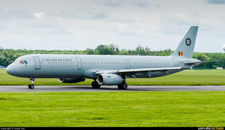Belgium - Air Force CS-TRJ aircraft at Wrocław - Copernicus