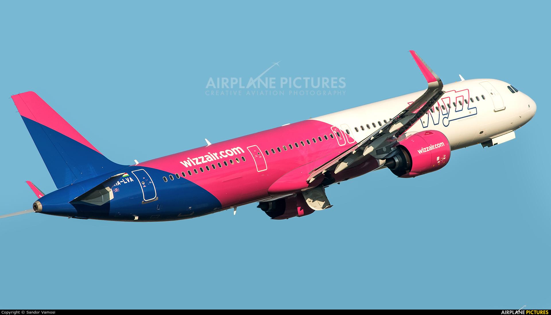 Wizz Air HA-LVA aircraft at Budapest Ferenc Liszt International Airport